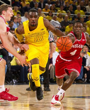 Tim Hardaway Jr. and the Wolverines lost a heartbreaker against Victor Oladipo and the Hoosiers