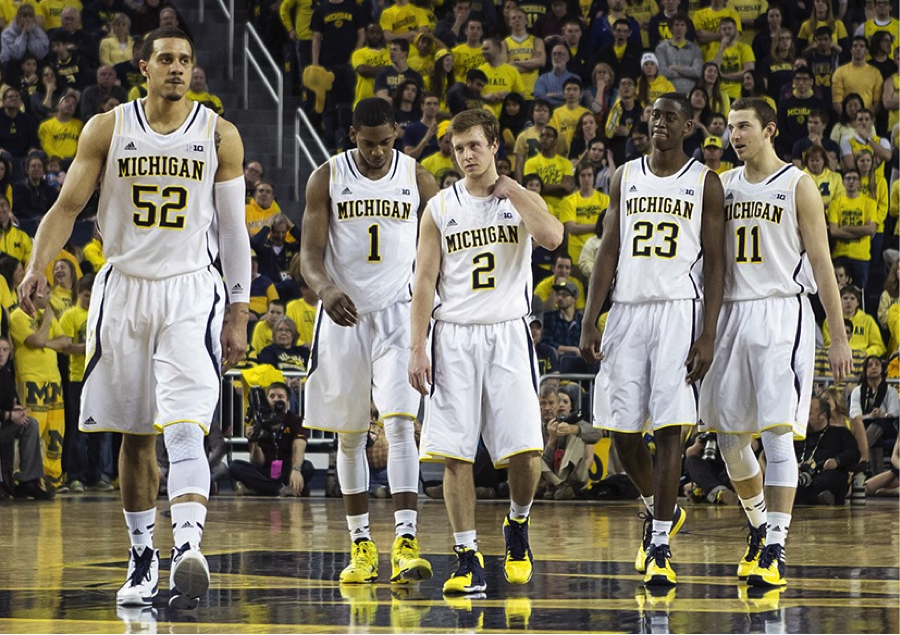 Photo Cred: (http://www.umhoops.com/wp-content/uploads/2014/03/Michigan-vs-Minnesota_341.jpg) These Michigan men have first hand experience succeeding the NCAA Tournament. Can they repeat last year's success again this year?